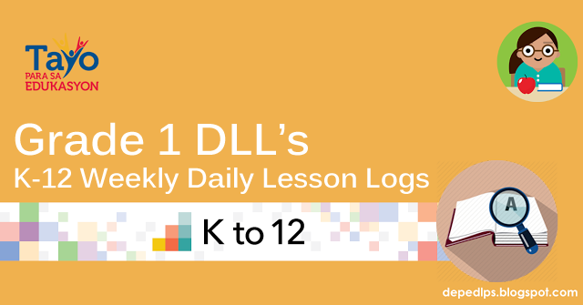 Deped Grade 1 K-12 Daily Lesson Log (DLL)