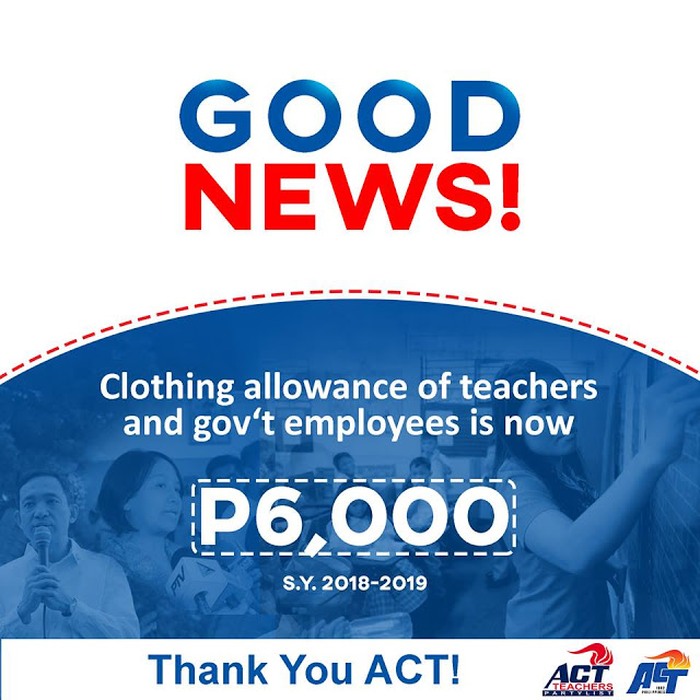 6k Clothing allowance now has Release Date - Deped ...